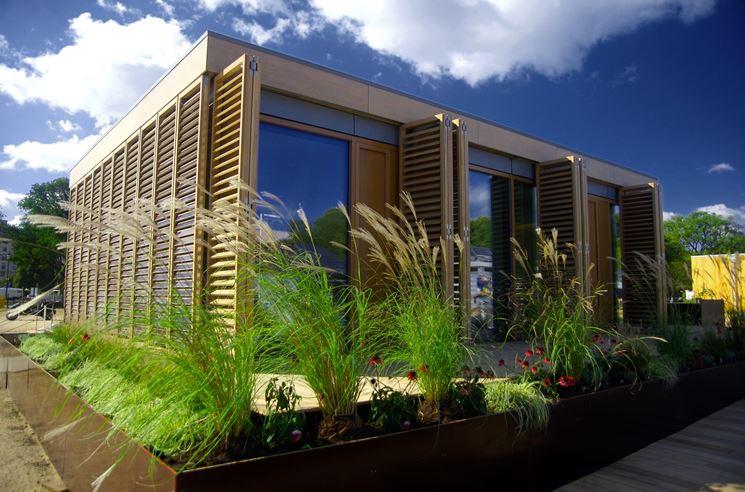 edificio costruito con la bioedilizia
