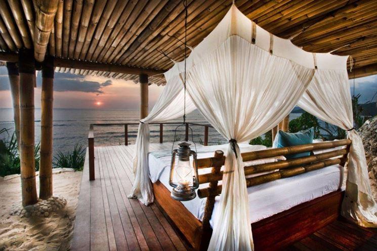 Stanza d'albergo eco friendly