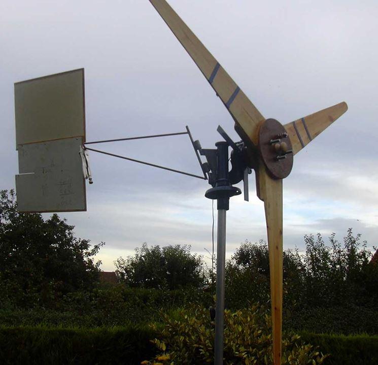 Un impianto eolico artigianale di grandi dimensioni