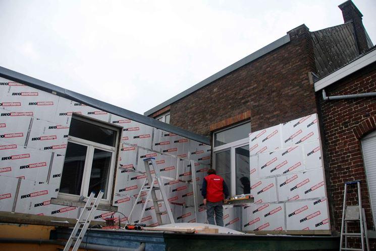 pannelli per isolamento termoacustico esterno
