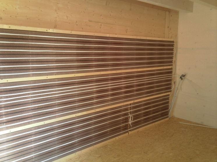 Pannelli radianti risparmio casa utilizzare pannelli radianti - Riscaldamento pannelli radianti a parete ...