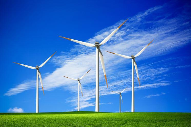 Pale eoliche per la produzione di energia