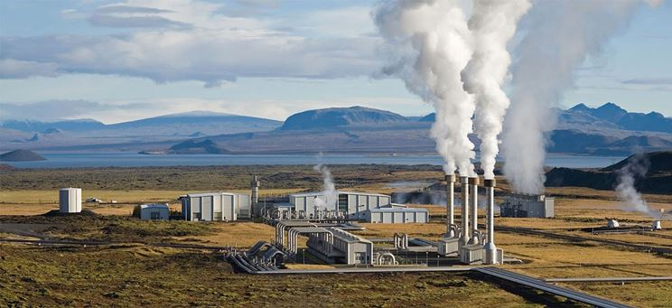 Impianto energia geotermica