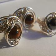 Anello filo argento