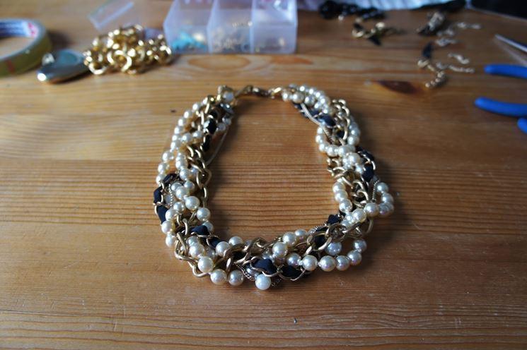 sito affidabile 50e4d 12df8 Collane di perle fai da te - Bigiotteria fai da te - Collana ...