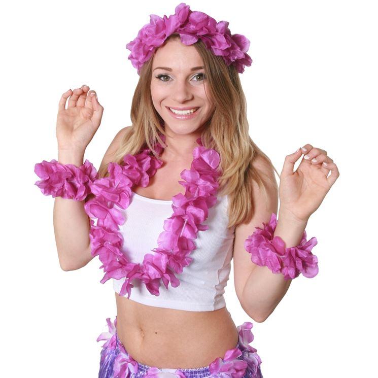 Collane hawaiane decorative