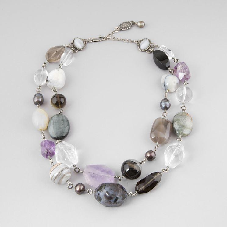 Conosciuto Gioielli pietre dure - Bigiotteria fai da te - Realizzare gioielli  SK29
