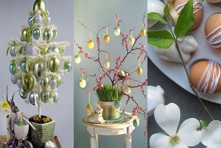 Albero di pasqua come decorare decorazioni pasquali - Decorazioni pasqua fai da te ...