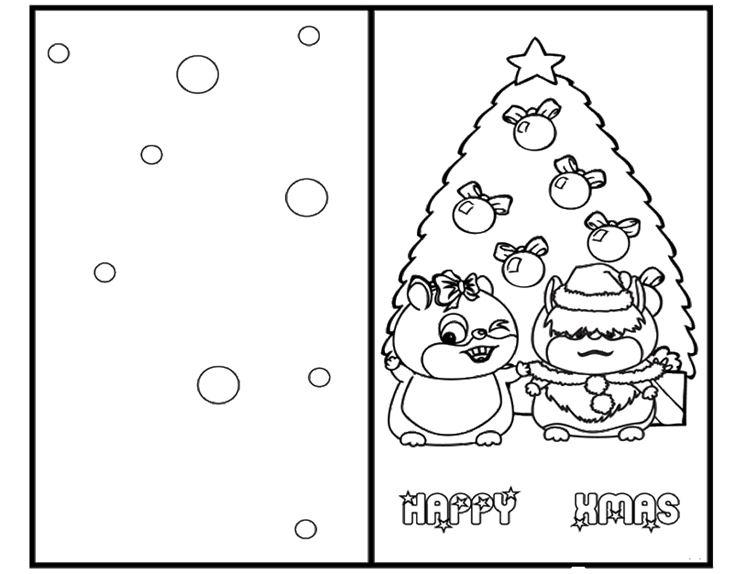 Biglietti Di Natale Fai Da Te Da Colorare Disegni Di Natale 2019