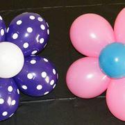 Fiori di palloncini legati