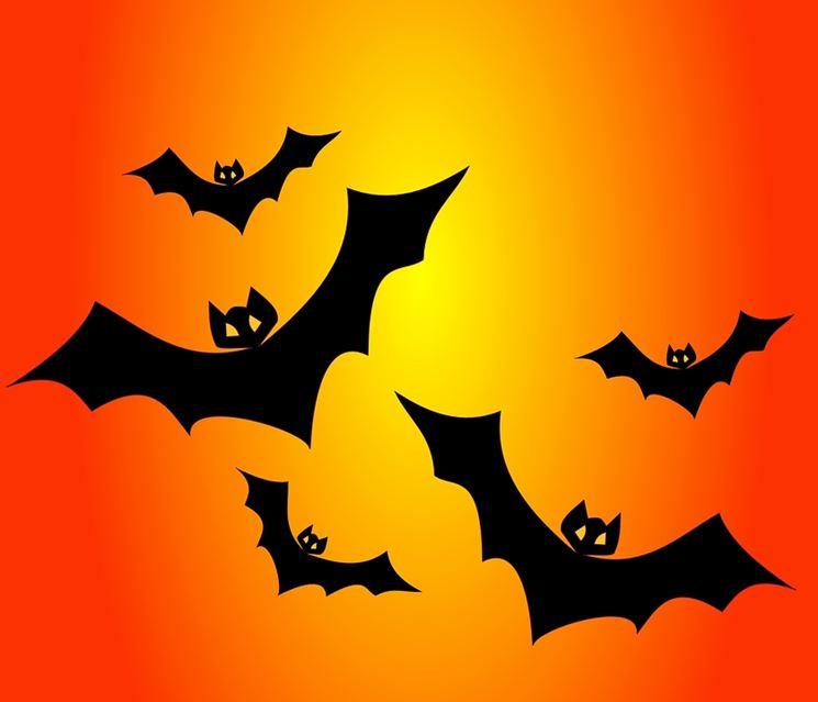 Decorazione pipistrelli