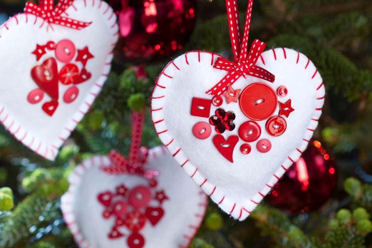 Affordable decori natalizi fai da te di feltro decorazioni - Decori natalizi per finestre fai da te ...