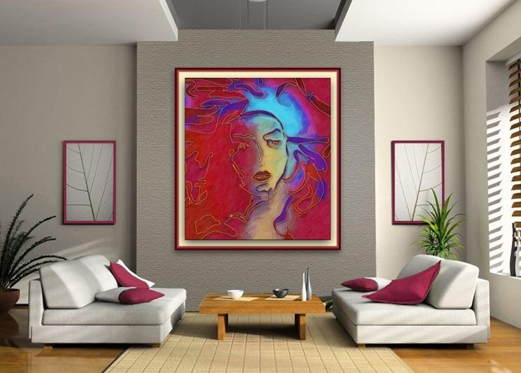 I quadri come decorare decorare con i quadri - Quadri fai da te moderni ...