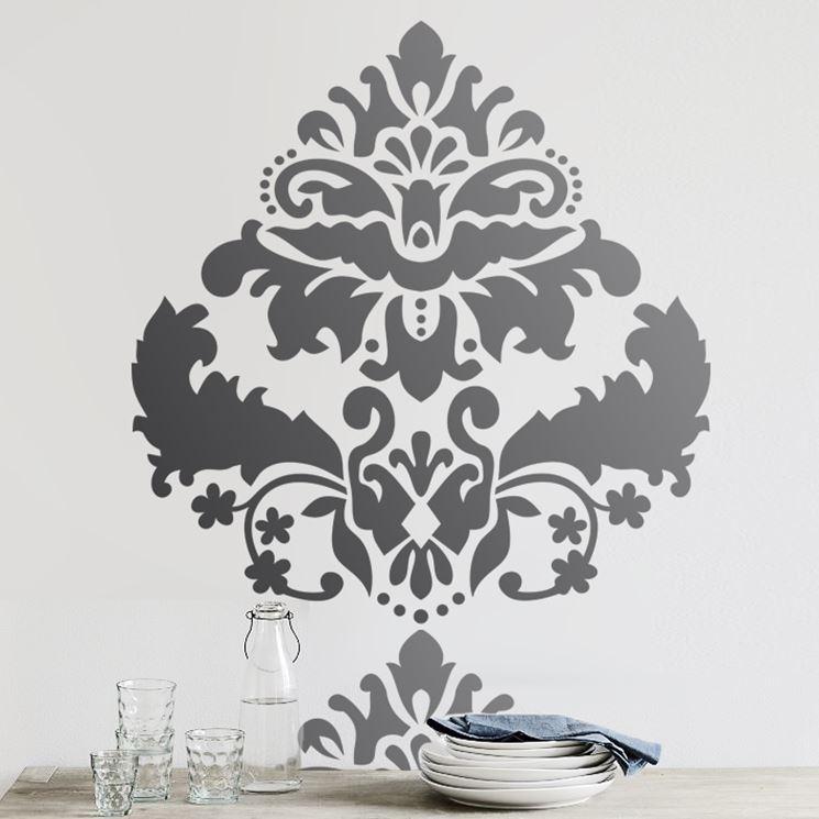 Stencil per pareti come decorare decorare con gli for Stencil scritte per pareti