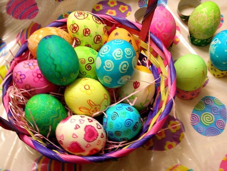 Uova sode di Pasqua