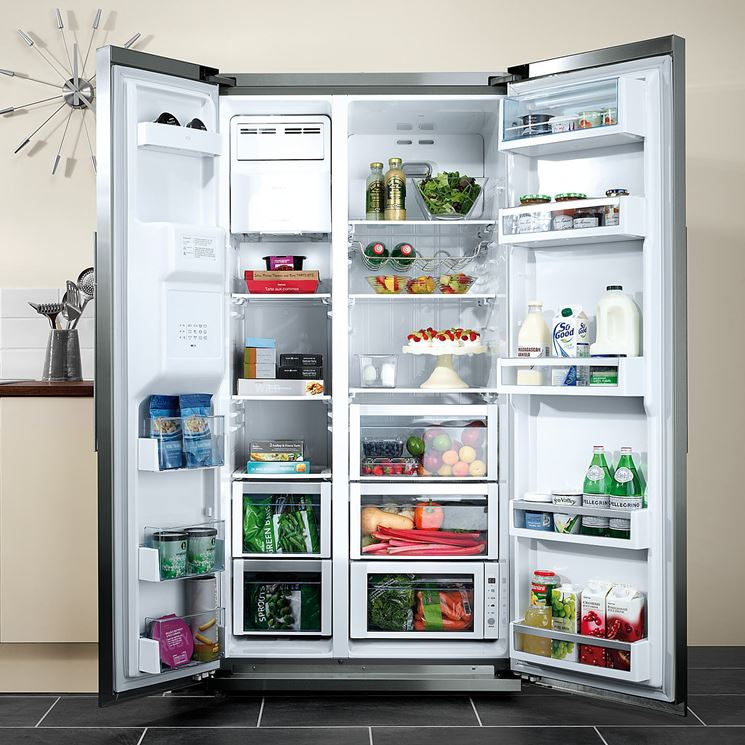 Modello di frigorifero americano