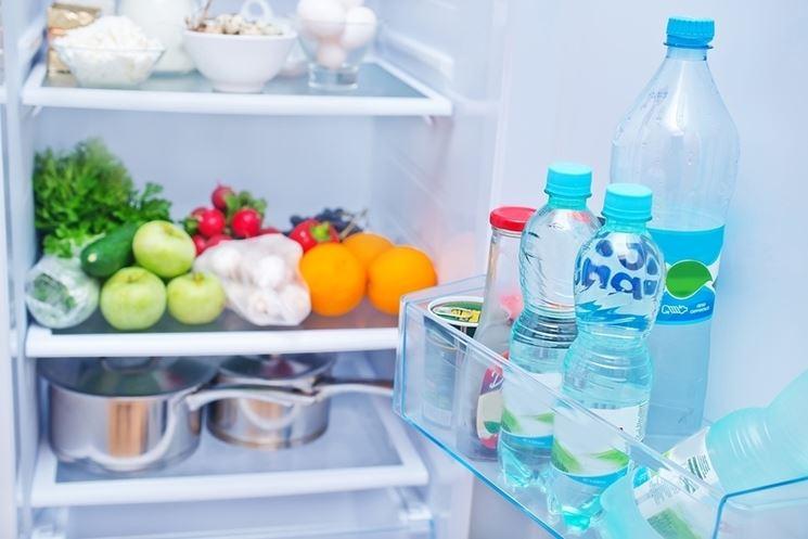 Interno di un frigorifero