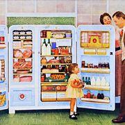 Uno dei primi modelli di frigorifero della storia