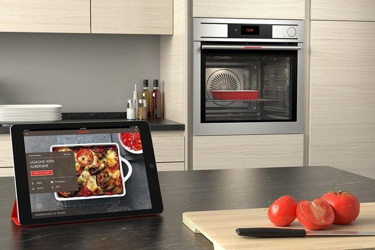 Controllo domotico del forno