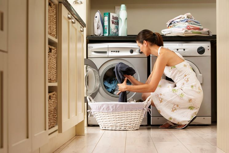 lavaggio in lavatrice