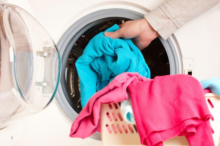 usare lavatrice a doppio ingresso