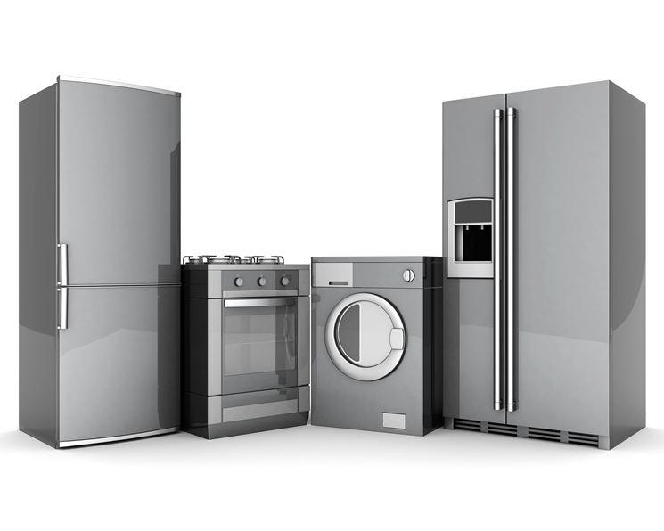 Ricambi per elettrodomestici di diverse tipologie