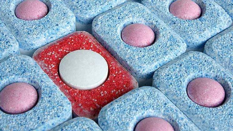 Pastiglie di detersivo per lavastoviglie