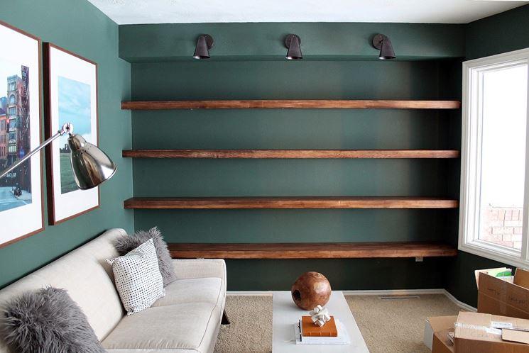 Libreria in legno fai da te