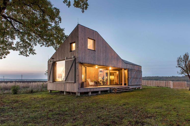 Edificio in legno