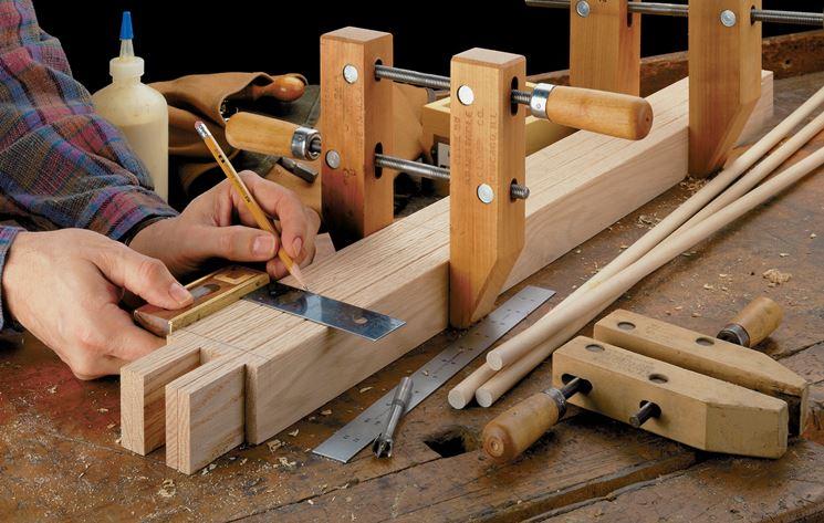Misura nella lavorazione del legno