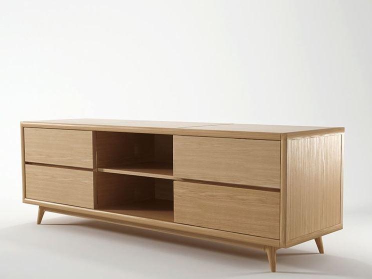 Mobili legno acero
