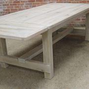 Tavolo in legno decapato