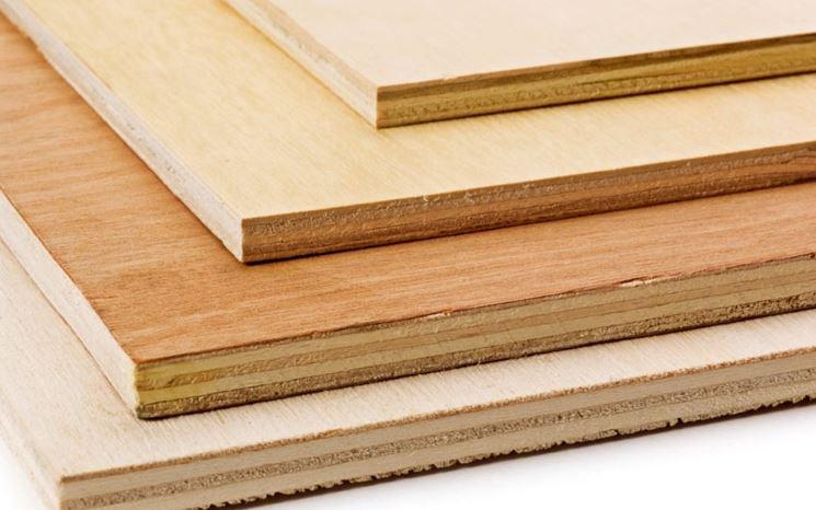 Tipologie di legno multistrato