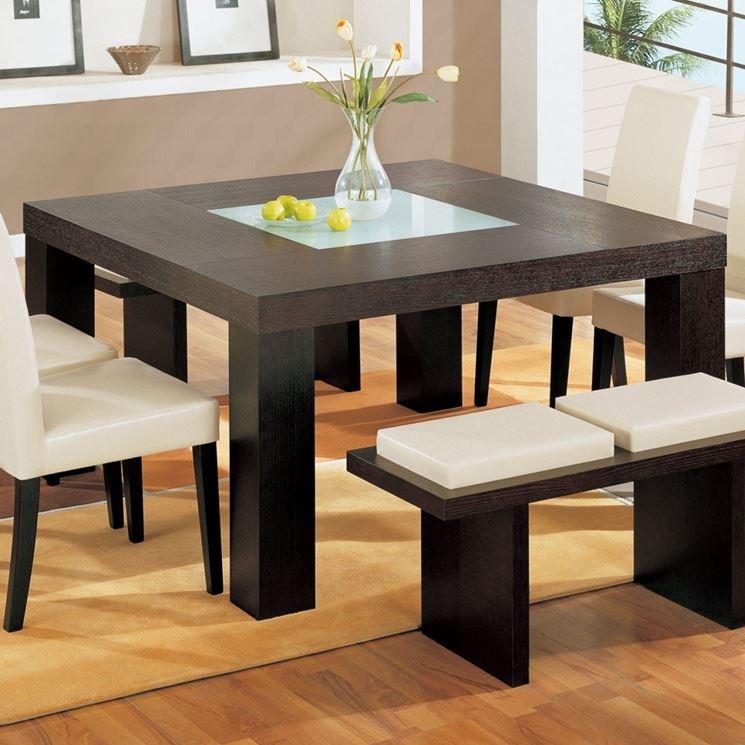 Tavolo legno wenge