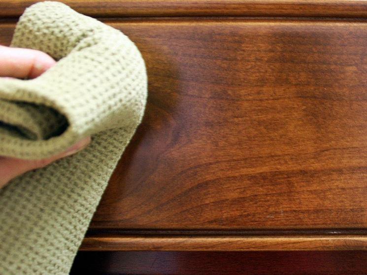 Panno pulizia legno