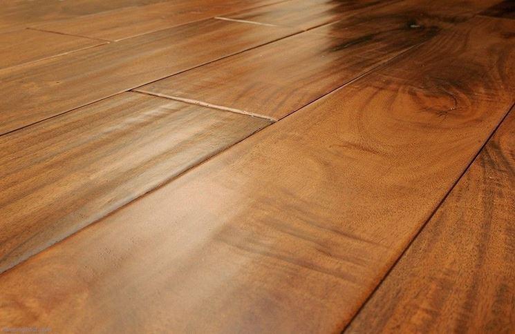 Listelli in legno per parquet