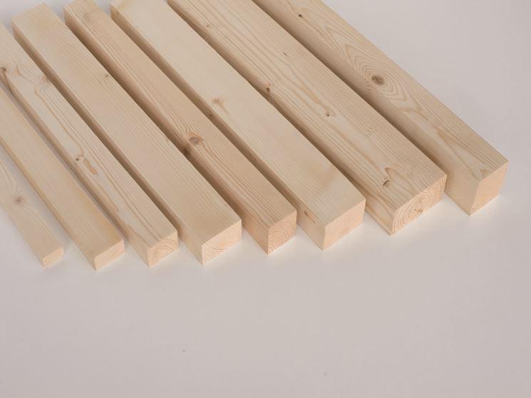 Listello in legno di abete
