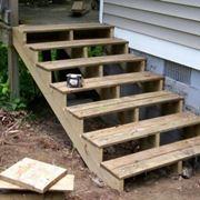 Gradini in legno per esterno