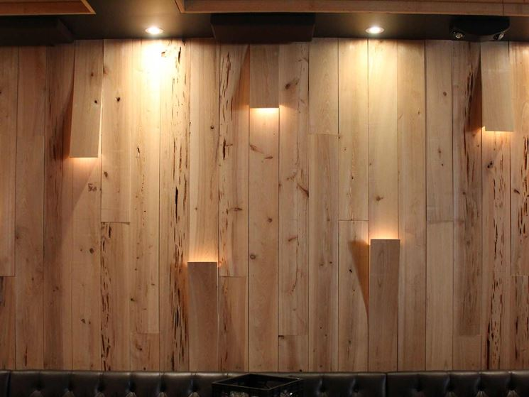costruire parete di legno : Perline in legno - Fai da te legno - Installare perline in legno
