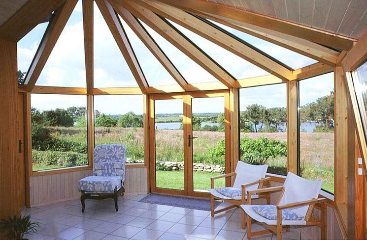 veranda in legno fai da te legno caratteristiche della veranda in legno. Black Bedroom Furniture Sets. Home Design Ideas