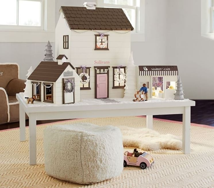 Casa delle bambole per bambini
