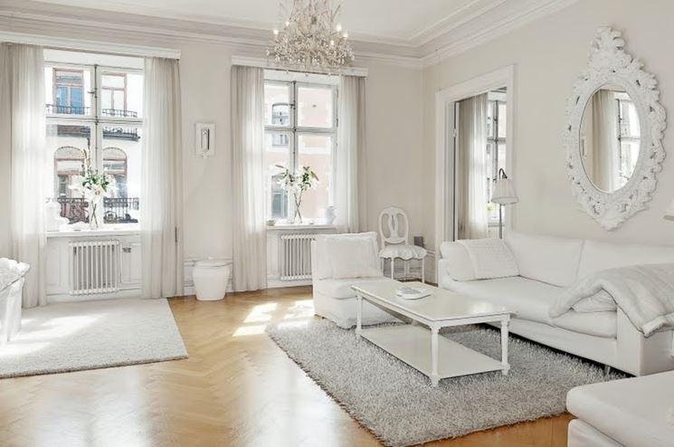Esempio di casa total white