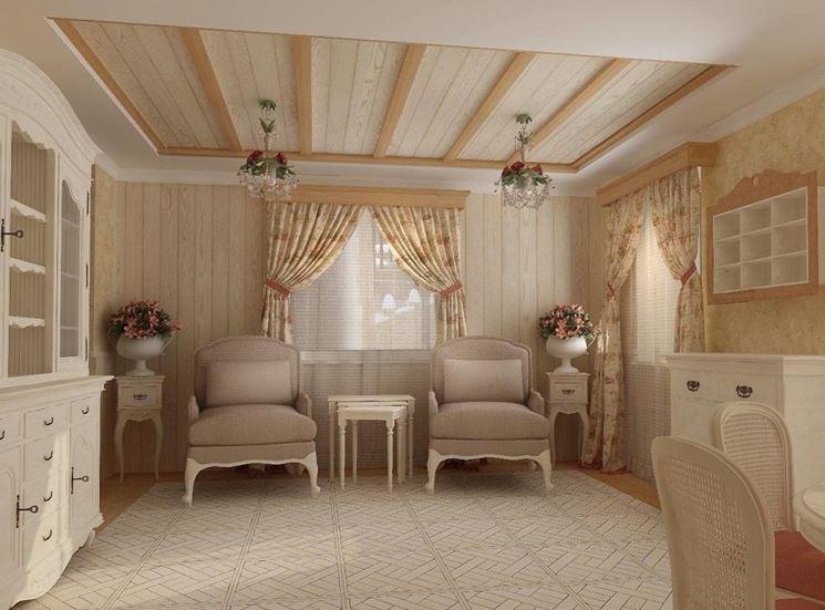 interni in stile provenzale