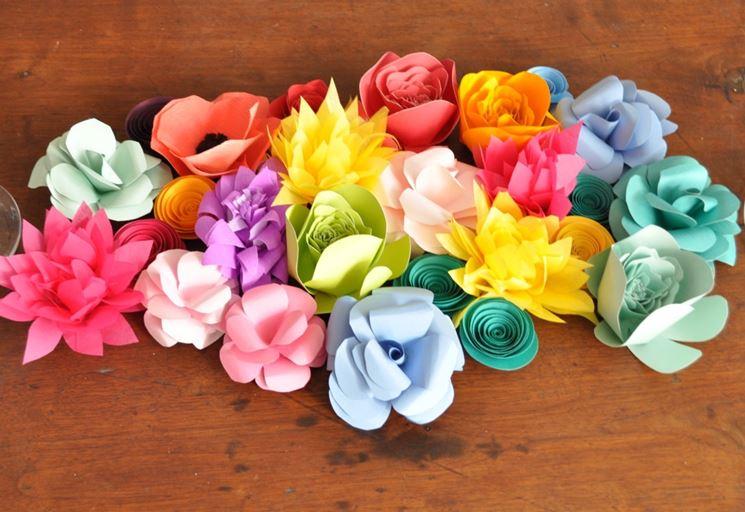 esempi di fiori di carta