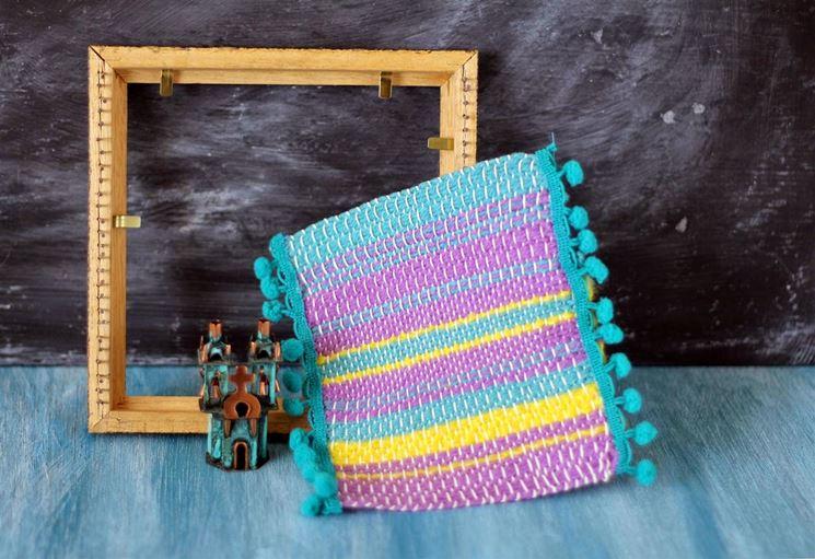 come usare telaio per tessitura