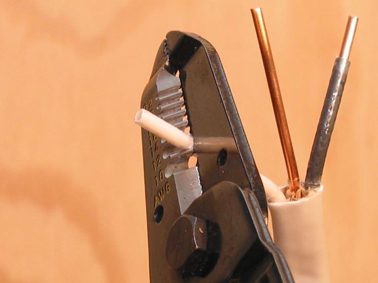 Riparare un filo elettrico