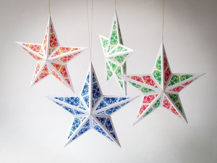 decorazioni natalizie papercraft