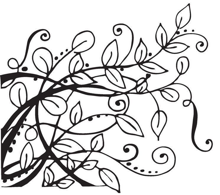 Esempio di stencil per pirografia