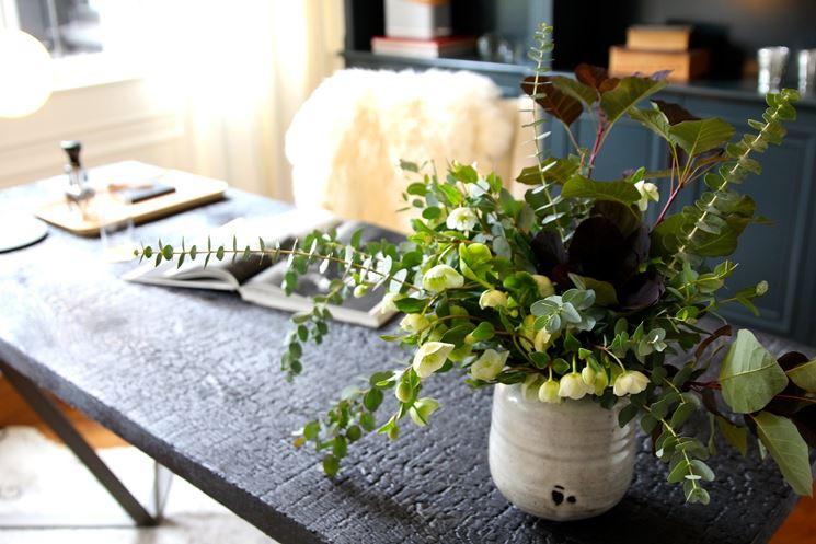 Tavolo con angolo verde