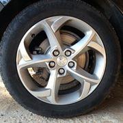 Ruota cerchio pneumatico